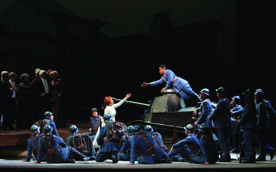 Opera på Park 2 mars, Regementets dotter direkt från Metropolitan