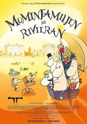 Muminfamiljen på Rivieran kommer på Park 14 mars kl 16.00