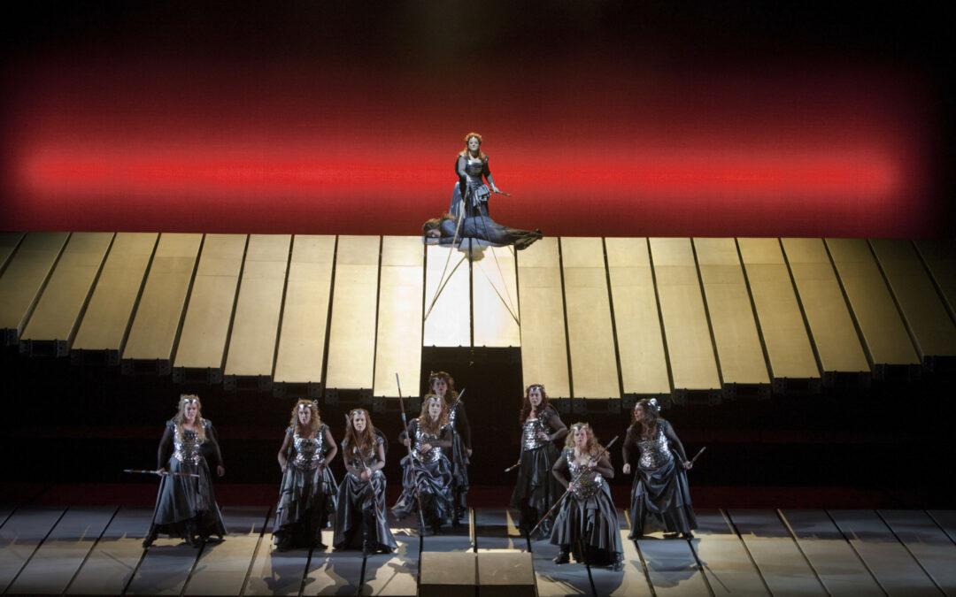 Vårens sista operaföreställning på Park, Valkyrian från Metropolitan 30 mars.