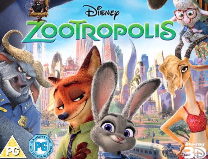 På söndag, den 28 april, visar vi Zootropolis från Disney kl 16.00