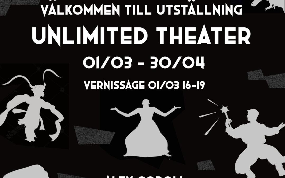 Konstutsällningen Unlimited theatre på Park